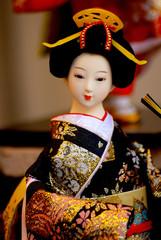 Japanese doll, Kyoto, Japan