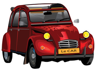 Le car illustration