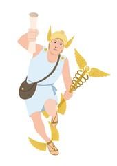 Hermes on white