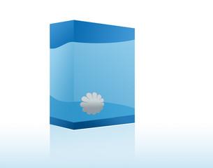 Copyspace Blue Box