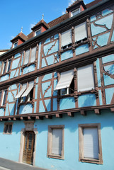 Maison bleu de Strasbourg