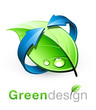 Logo nature recyclage