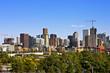 Denver Skyline and New Construction