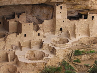 Cliff Palace at Mesa verde national park