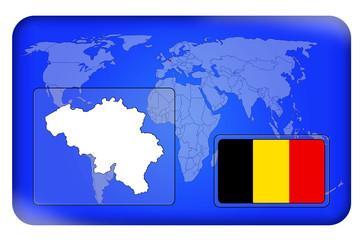 3D-Button - Belgien