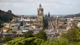 Fototapety Edinburgh, Blick vom Calton Hill zur Princes Street