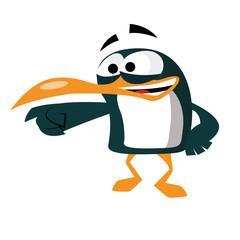 Pingouin moqueur