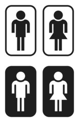toilet pictograms