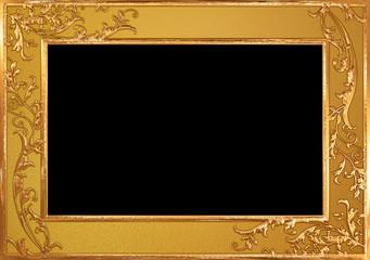 金の蔦のフレーム