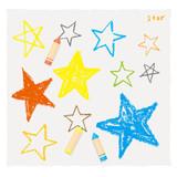 Fototapety クレヨンで描いた星