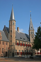 Middelburg square, Holland