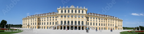 Schoenbrunn Palace, Vienna, is a historical landmark of Austria