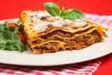 Lasagna al Forno with Rocket Salad