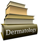 Education books - Dermatology poster