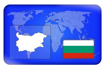3D-Button - Bulgarien
