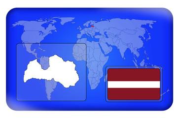 3D-Button - Lettland