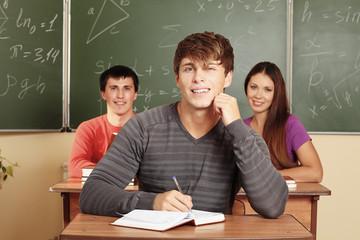 handsome student