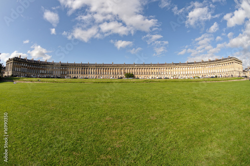 Royal Crescent, Bath, Somerset, England, UK