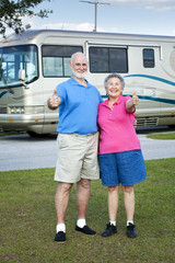 RV Seniors Thumbs Up