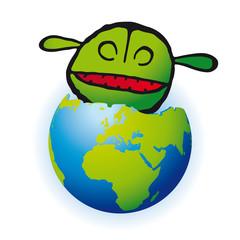mangiare il pianeta la terra