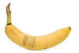 Banana Nutrition Facts poster