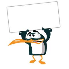 Pingouin panneau