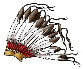 copricapo indiano