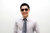 asian male with sunglasses