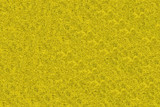 Close-up of yellow synthetic fibrous surface poster