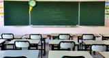 Salle de classe vide. poster