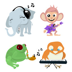 cute animals band