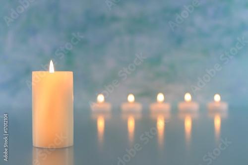 In de dag Vuur / Vlam Kerzen