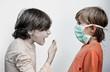 grippe microbe virus contamination contaminer éternuer transmett