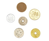 Japanese coins, money