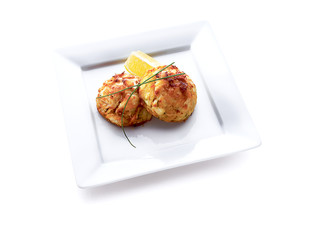 food, crab cakes