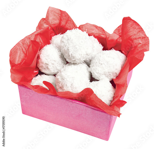 holiday gift, coconut snowballs cookies