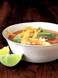 appetizer, mexican tortilla soup