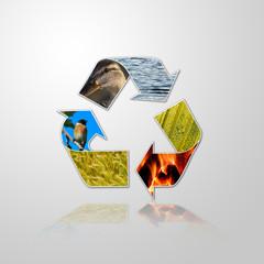 riciclare, rispetto dell'ambiente