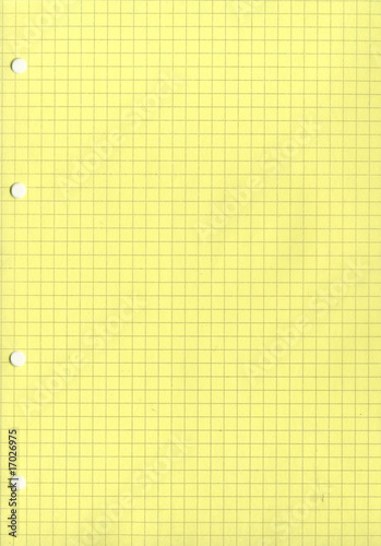 background of notebook sheet