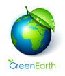 planète terre écologie / concept développement durable