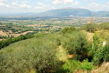Umbria, panorama