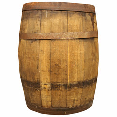 Wine or beer barrel cask