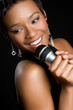 Beautiful Black Singer