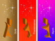 Постер, плакат: Gold frankincense and myrrh
