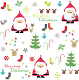 Fototapety vector - christmas card decoration