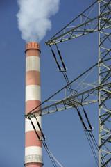 Industrie Energie Kraftwerk Strom