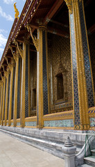 Thai buddhist temple Wat phra kaeo