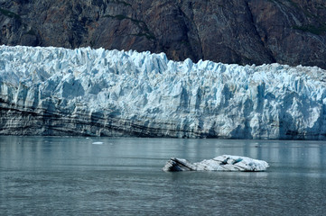Iceberg and Tidewater Margerie Glacier, Alaska