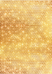 ゴールドのスパンコールの背景