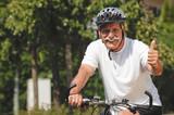 Fototapety Fahrradfahrer